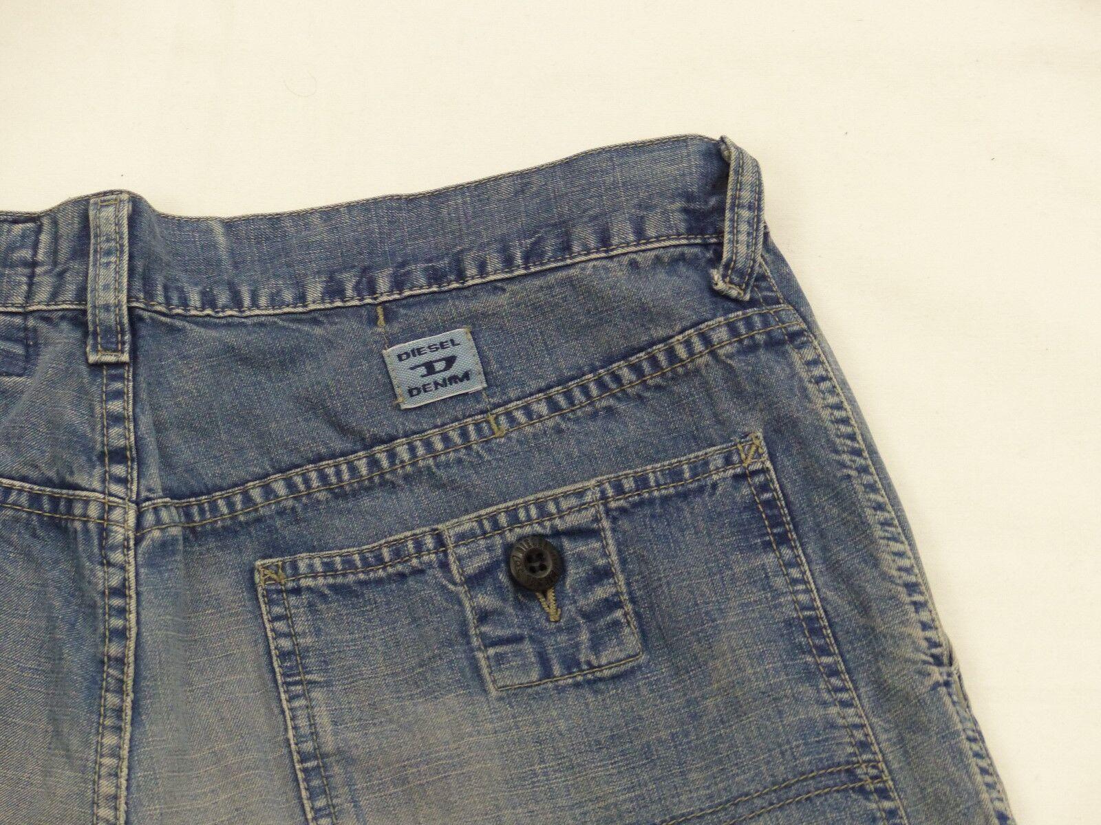 Diesel Demin Casual Jeans Pantaloni  MASTER MASTER MASTER  retro  Blu  VINTAGE  saddle  Gr  33tip Top f62df8