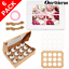 6-Pack-PREMIUM-Windowed-Mini-Cupcake-Boxes-for-12-Cup-Cakes-With-Inserts-Decor thumbnail 1
