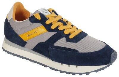 Gant Duke Suede+Textile sneakers marine