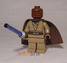 Lego Custom Mace Windu Star Wars Minifigure Jedi BRAND NEW cus251