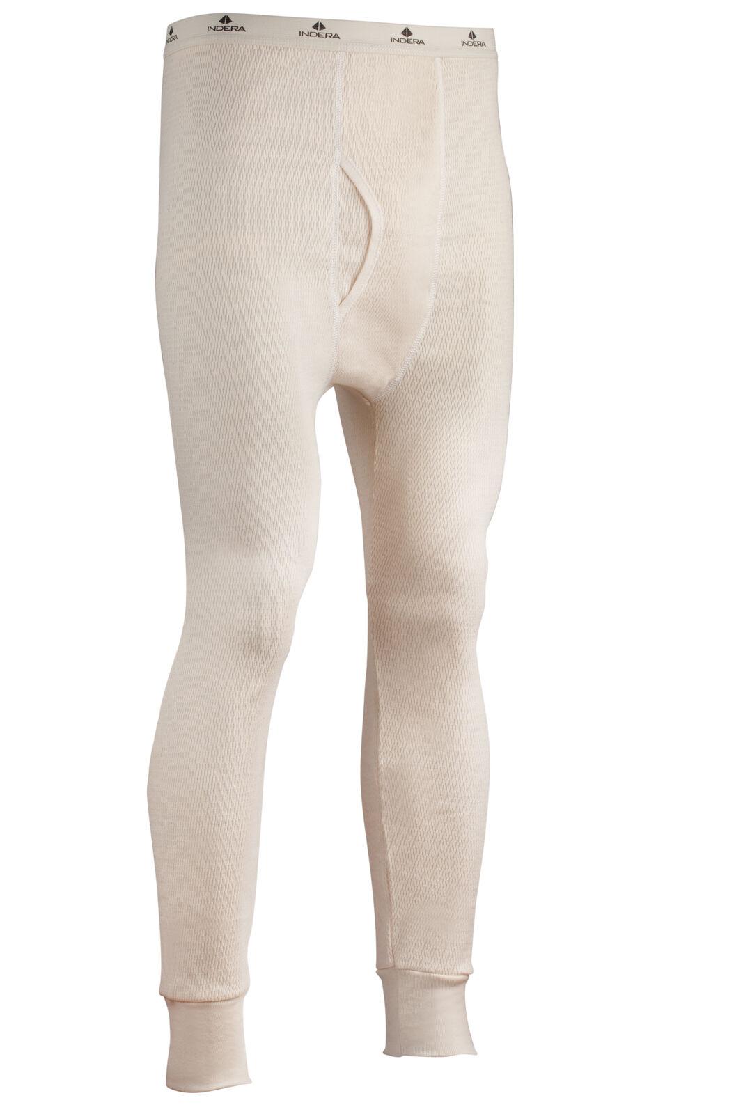 Indera Mens Expedition Weight Cotton Raschel Knit Thermal Underwear Top