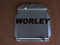 Aluminum Radiator For Ford Pickup Truck Chevy Engine 1942-1952 1943 1944 1945 46