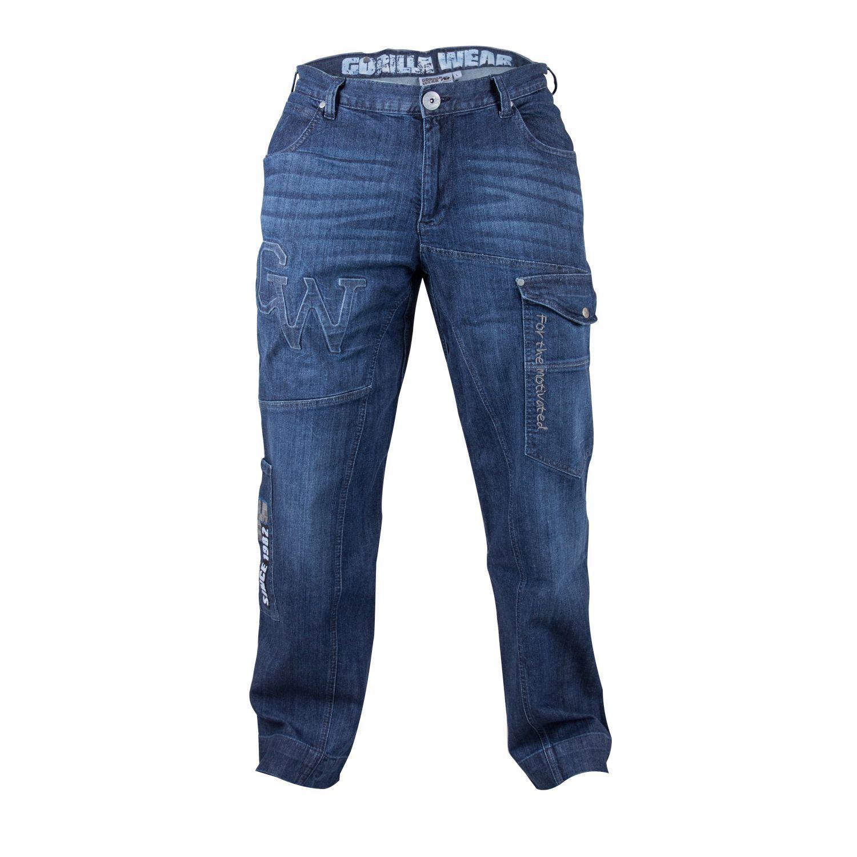 Gorilla Wear GW82 GW82 GW82 Jeans Blau - Sale df3656
