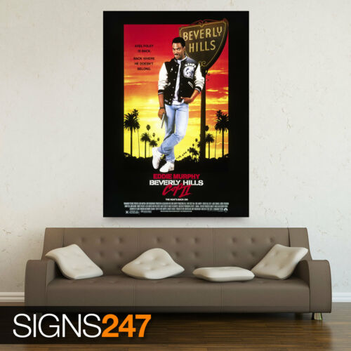 All Sizes ZZ049 MOVIE POSTER Photo Poster Print Art BEVERLY HILLS COP 2