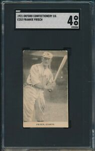 1921-E253-Oxford-Confectionery-Co-Frankie-Frisch-6-SGC-4-GIANTS-VG-EX-HOF