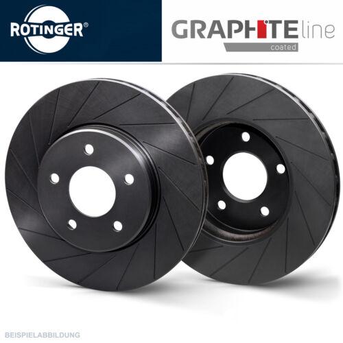 Rotinger Graphite Sport-Bremsscheiben Satz Vorderachse Ford Galaxy S-Max 2017128