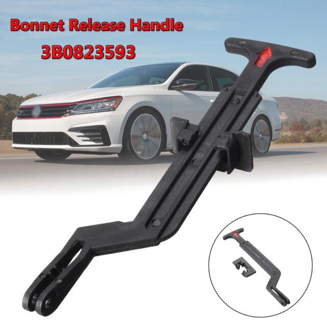 Hood Bonnet Release Rod Lock Latch Pull Handle 3B0823593 For VW Passat B5 98-04