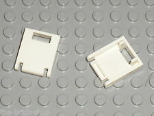 2 x Porte LEGO white Container Box door ref 4346 / set 10185 7676 4999 7675 6210