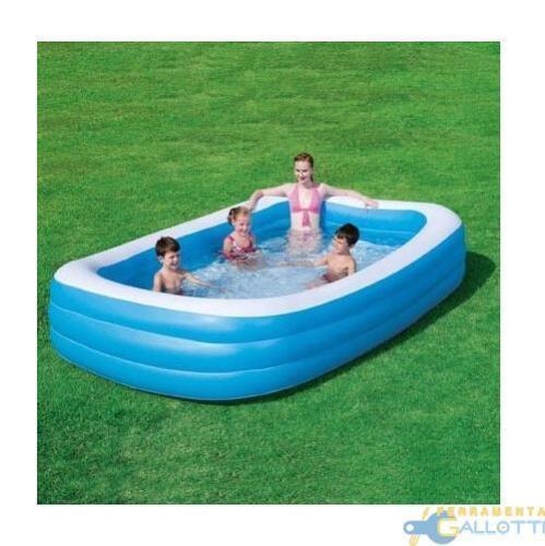 Aufblasbarer Pool FAMILIE 305X183X56 cm 3 Anelli Intex 58484