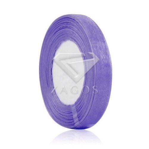 """50 yardas 1//8/""""3mm cinta escarpada Organza Arcos Boda Decoración Luz Púrpura SF"""