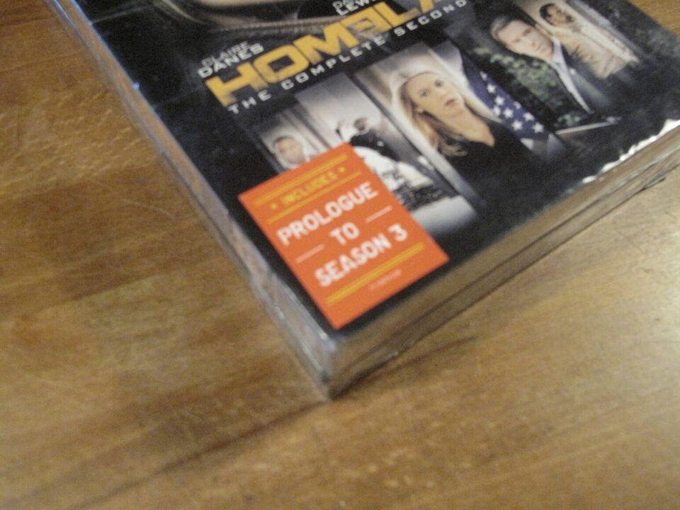 Homeland Season 1+2 samt prolog til 3. sæson, DVD, krimi