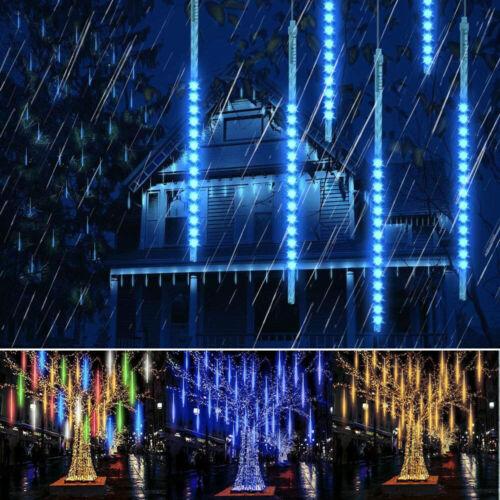LED Guirlande Lumineuse Météore de Pluie IP65 Imperméable Noël Maison Arbre Déco