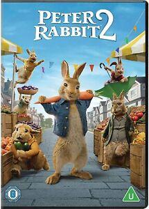 Peter Rabbit 2 [2021] (DVD) Rose Byrne, Domhnall Gleeson, David Oyelowo
