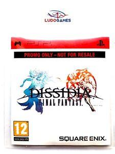 Final-Fantasy-Dissidia-Promo-Pal-Eur-Psp-Neuf-Scelle-Scelle-Retro-Nouveau