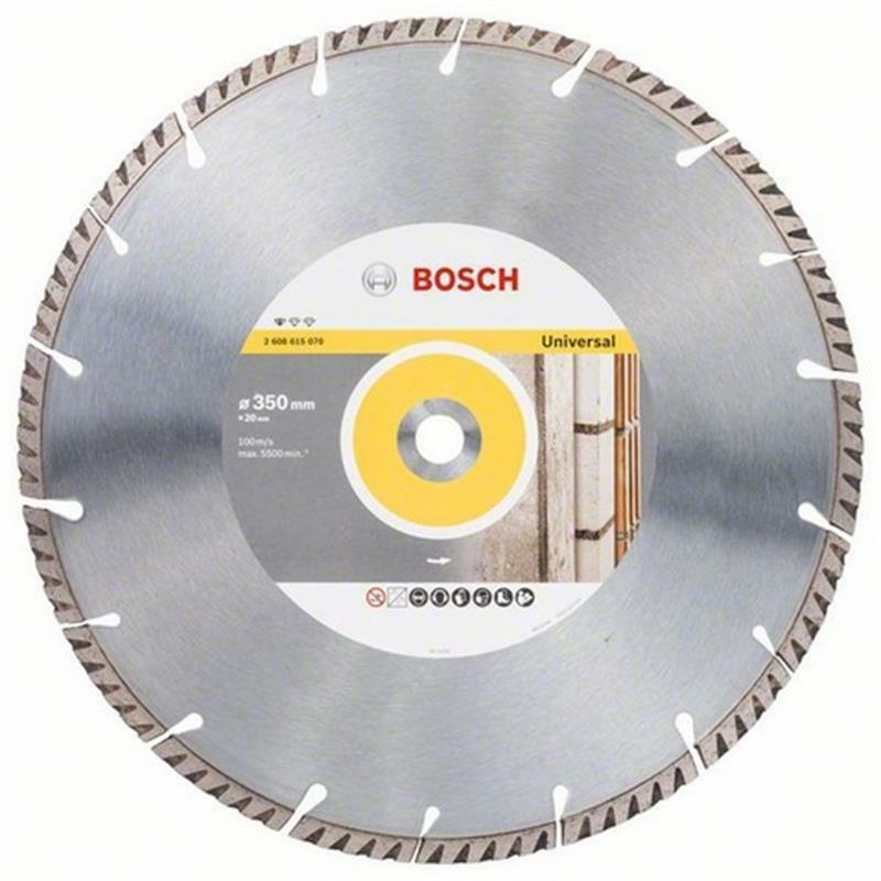 Bosch Diamant Trennscheibe Standard for Universal 350x20,00x3,3x10 mm, 1er VE