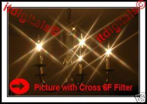 37mm Vari-Cross 6F Lens Filter 6PT Light Effects Variocross Screen Star s 37 mm