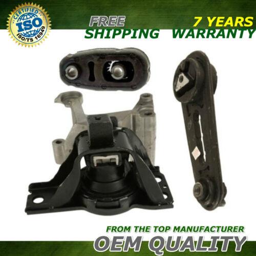 Mount Set 3PCS for 2007-2011 Nissan Sentra 2.0L OEM Quality Motor /& Trans