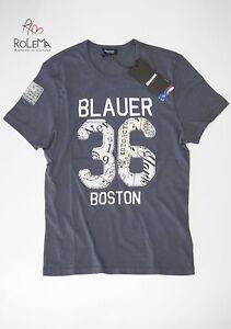 T-shirt-Boston-BLAUER-uomo-maglia-maglietta-manica-corta-ORIGINALE-Nuova-maglie