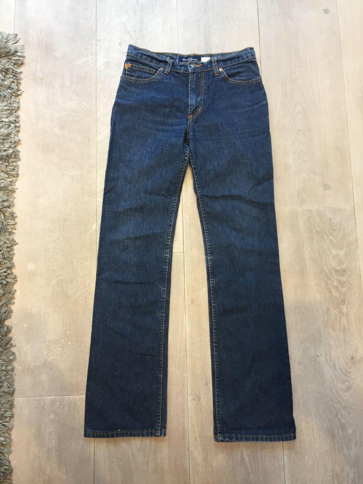 Earl Jean Dark bluee Straight Leg Jeans. Size W29 L32.