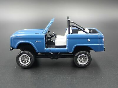 1967 67 FORD BRONCO 4X4 OFF ROAD RARE 1:64 SCALE COLLECTIBLE DIECAST MODEL CAR