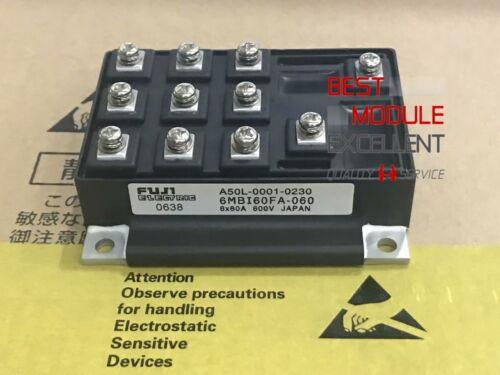 2PCS FUJI 6MBI60FA-060 A50L-0001-0230 power supply module NEW Quality Assurance
