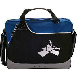 Image Is Loading Deluxe Day Brief Chess Bag With Knight On