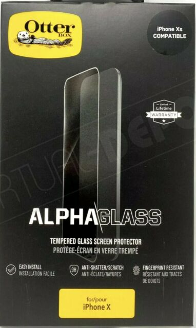 NEW OtterBox Alpha Glass Screen Protector for Apple iPhone X, XS, iPhone 11 Pro