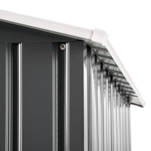 fondazione gris nuov Box casetta metallo per giardino serra attrezzi capannone