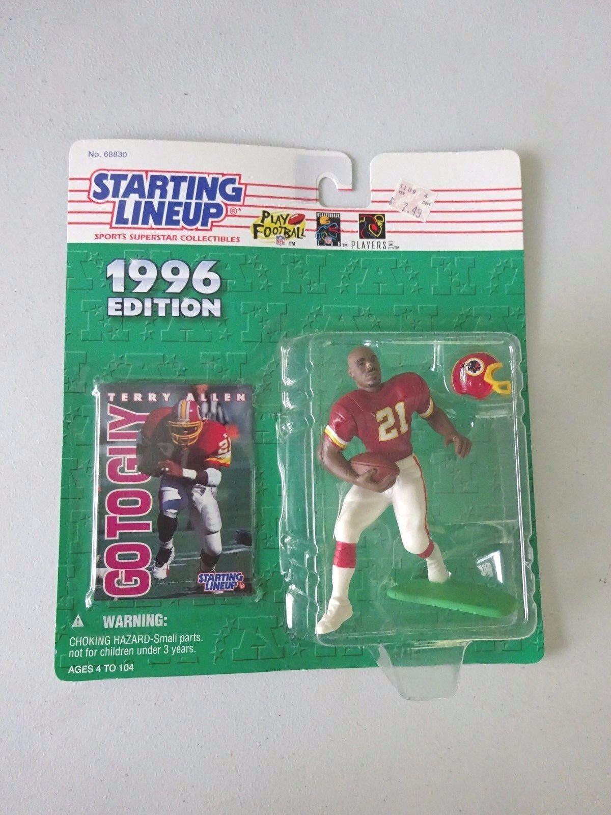 1996 Eric Metcalf Atlanta Falcons SLU mint on card