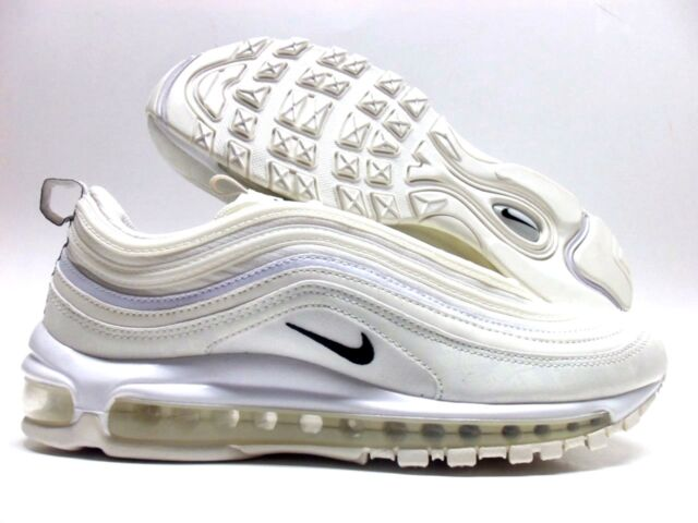 643116065c8c3 NIKE AIR MAX 97 REFLECTIVE LOGO SAIL BLACK-WHITE SIZE MEN S 10.5  AR4259