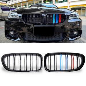 M-Color Front Kidney Grill Grille for BMW F10 M5 528i 535i 550i Sedan 2010-2016