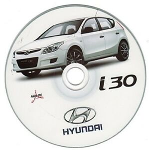 hyundai i30 workshop manual workshop manual ebay. Black Bedroom Furniture Sets. Home Design Ideas