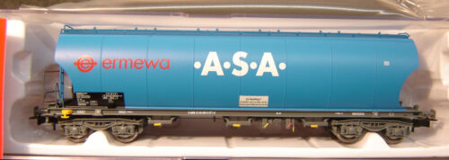 "Rivarossi HO HR6285-2 Silowagen 33 80 065 8 069-4 /""ERMEWA-ASA/"" VI /""Neu/"" AND"