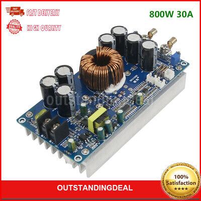 800W 30A DC-DC Step Down Buck Converter High Power CV CC Adjustable MCU os12
