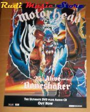 POSTER PROMO MOTORHEAD 25 & ALIVE BONESHAKER 84X59,5 cm NO cd dvd vhs lp live mc
