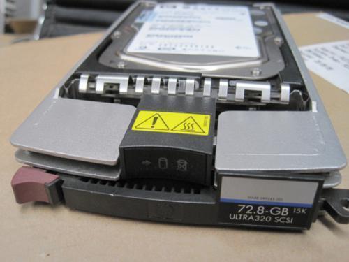 HP 72.8GB 15K Ultra320 U320 SCSI Hard Drive HDD w Caddy/Tray