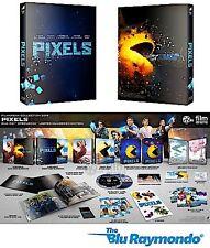 Pixels Blu ray Steelbook FilmArena FAC #26 3D 2D Film arena Steelbook NEW SEALED