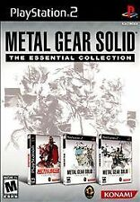 Metal Gear Solid: The Essential Collection (Sony, Playstation 2) PS2 Rare