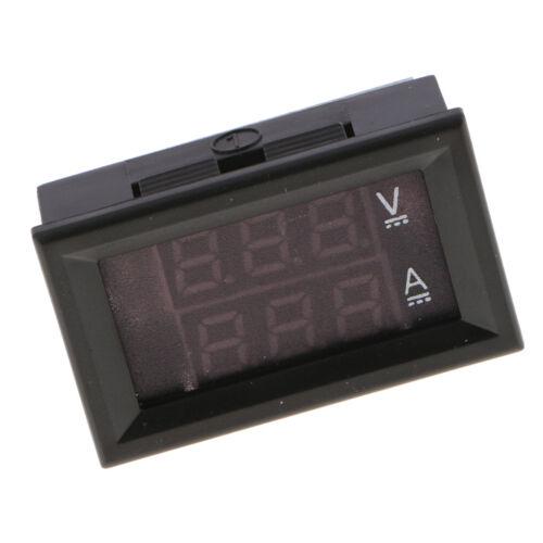 Mini LED Digital Voltmeter Ammeter DC 100V 20A Amp Volt Meter Amperemeter