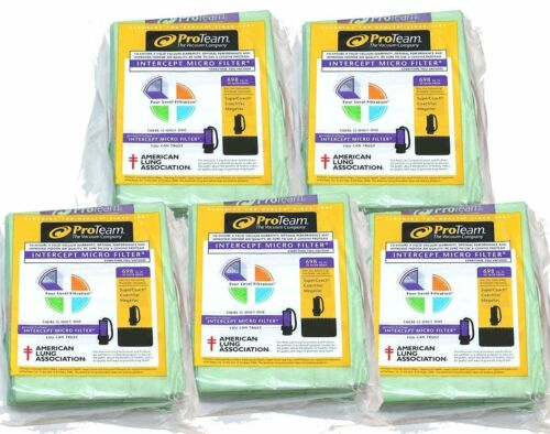 5 Pack Bundle ProTeam 10 qt Backpack Bags