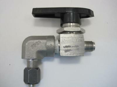 Home Improvement Home & Garden 12787 Whitey Swagelok Ball Valve Ss-43m-s4 And Parker Compression Elbow Ss-26