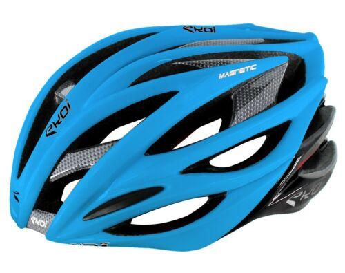 EKOI Ekcel Magnetic 2015 Helmet Light Blue-Black