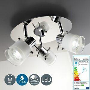 Led Bad Leuchte Lampe Ip44 Badezimmer Strahler Decken Spot 3