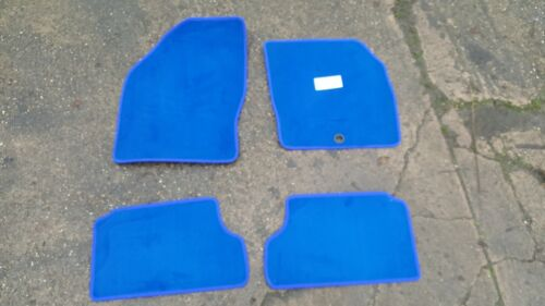 Ford Focus MK2 2005-2011 a medida Alfombrillas De Coche Alfombra Azul 4pc piso Mat Set