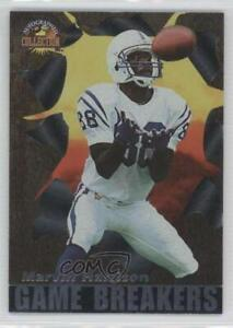 1996 Score Board Auto Collection Game Breakers Marvin Harrison #GB26 Rookie HOF