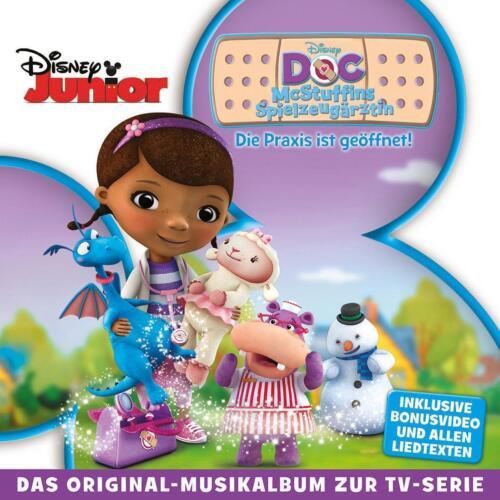 1 von 1 - DOC MC STUFFINS Die Praxis Ist Geöffnet Soundtrack Ost Walt Disney CD NEU - OVP