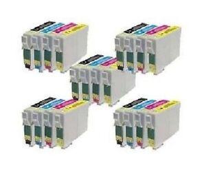 20-Pieces-Ink-for-Epson-Stylus-DX4050-DX4400-DX4450-DX5050-DX6050-DX7000F