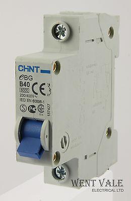 CED CUB40SP 40a Type B Single Pole MCB Unused