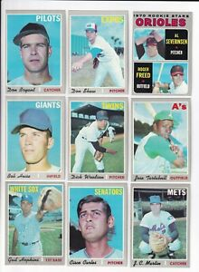 1970-Topps-5th-Series-Baseball-PICK-LOT-YOU-Pick-any-1-of-34-cards-for-1