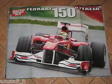 # POSTER FERRARI F.1 150° ITALIA 2011 CM.70X54 AD5